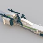 लेगो रेसिंग स्पीड कार