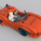 سيارة ليغو مفصلة