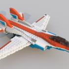 ليغو لعبة طائرة مقاتلة