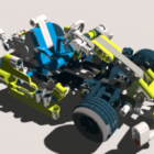 سيارة ليغو للخيال العلمي