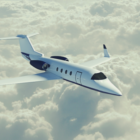 Learjet Plane