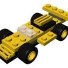 Lego Micro Wheels Car