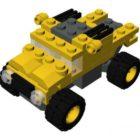 Lego Micro Wheels Vehicle