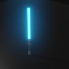 Sabre de lumière bleue