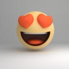 Icône Emoji d'amour