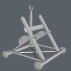 Vintage Catapult Weapon