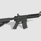 Schwarze M4a4 Waffe
