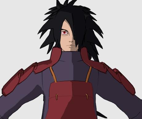 Madara Uchiha Anime Character