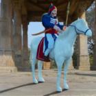 Chetak-Pferd mit Maharana