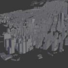 Manhattanské městské budovy