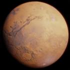 Realistic Mars Planet