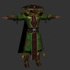 Carácter de hombre de artes marciales
