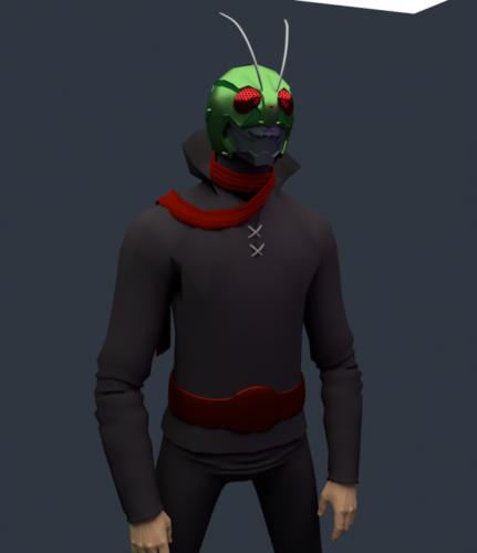 Antman Máscara Personaje
