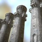 Edificio de la torre de guardia medieval
