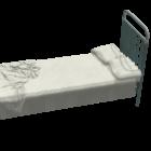 Noclehárna kovová postel