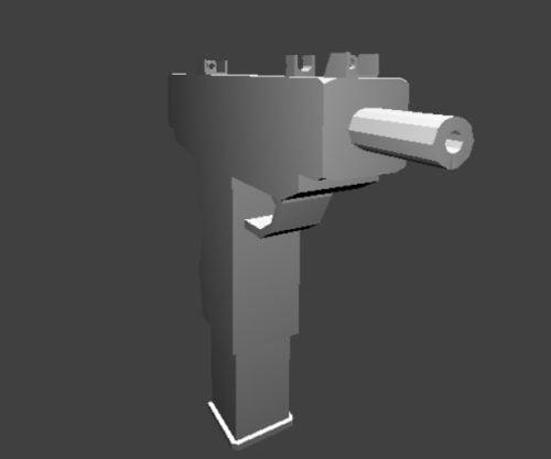 Zbraň Micro Uzi Gun