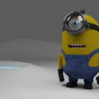 Minion With Glasses