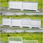 Panneaux de clôture en béton
