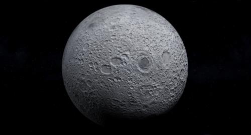 واقعية القمر