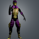 Conception de personnage Ninja