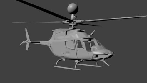 Helicóptero Bell Oh-58 Kiowa