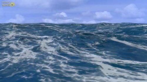 مشهد من المحيط