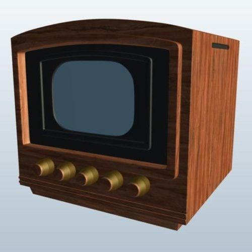 Old Television Box