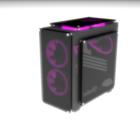 PC transparante computerkast