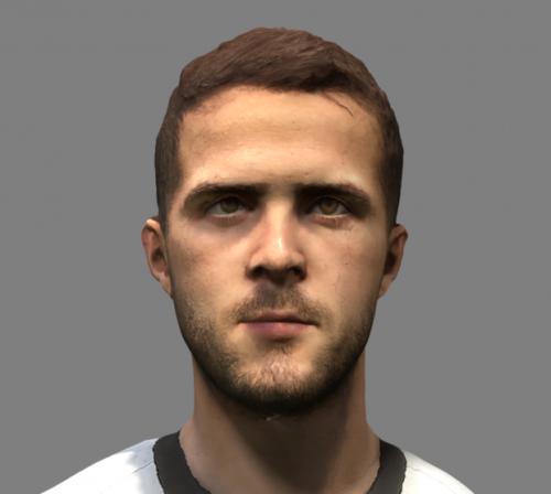 Footballer Pjanic Head