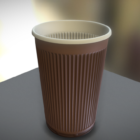 Tasse en plastique