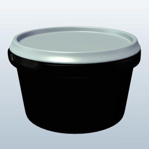 Plastic Salad Container Box