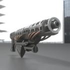 Prototipo de arma Railgun