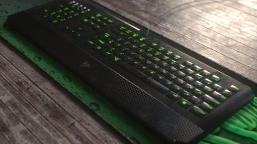 لوحة مفاتيح الألعاب Razer
