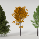 Realistic Trees Collection