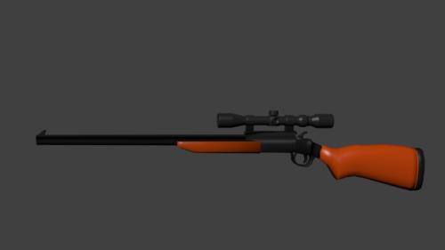 Kivääri ase Snipperi