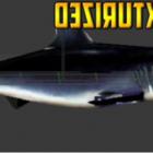 Rigged Žraločí zvíře