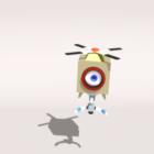 Flying Robot Baling Rigged