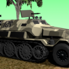 German Sdkfz Armored Car