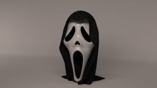 Diseño de máscara de grito