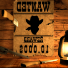 Wanted West Poster