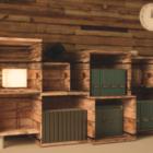 Dřevěná police