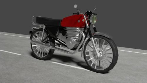 Motocicleta Honda Vintage