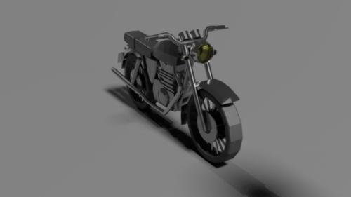 Poly moottoripyörä