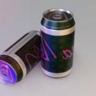 Canette de soda réaliste