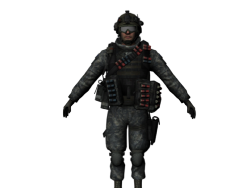 Soldier Full Weapon Accessories