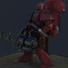 Marine War Hammer Robot