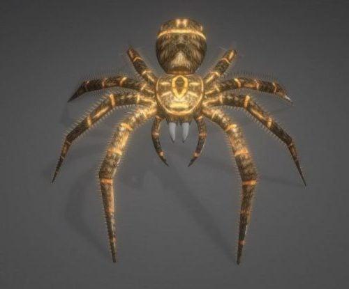 Jättiläinen hämähäkki animoitu