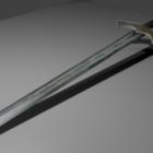 Středověká dekorace meče