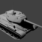 T34-85 Russischer Panzer