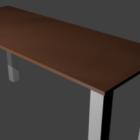 طاولة عمل مكتب مستطيلة